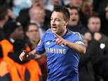 Heading off? John Terry is being targeted by Fenerbahce for a summer transfer