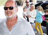 Kelsey Grammer takes his blended family of new wife Kayte and children Mason, Jude and baby Faith away for Spring Break