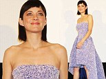 Lilac lovely: Marion Cotillard wows in stunning rise and fall gown at film premiere
