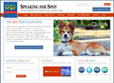 Speaking for Spot Website