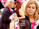 Adrienne Maloof splits with husband the same day as Lisa Vanderpump renews wedding vows on explosive Real Housewives finale