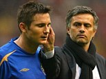 Bond: Jose Mourinho had a close relationship with Frank Lampard and John Terry at Chelsea