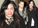 Channing Tatum relaxes on date night with pregnant wife Jenna Dewan as the trailer for White House Down trailer is released