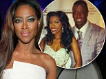 Optimist: Kenya Moore believes that co-star Porsha Williams can make it work with Kordell Stewart