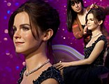 A wax figure of actress Emma Watson is unveiled at Madame Tussauds