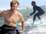 Now there's a tease! Scott Caan gives locals a sexy show as he strips off wetsuit on Malibu beach