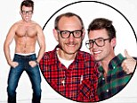 Macho man! Rachel Zoe protege Brad Goreski strips off for Terry Richardson photoshoot