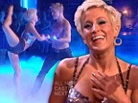 'We¿re playing find the body fat!' Kellie Pickler blows judges away with her flawless body on Dancing With The Stars