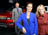 Zara Phillips follows in the footsteps of her grandmother as she joins Bond star Daniel Craig at Range Rover launch