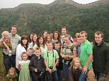 Great Wall of family: The Duggars are considering adoption to add to their family of 19 children