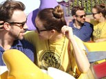 A pair of Dumbos in love: Olivia Wilde and Jason Sudeikis spend a day at Disneyland starring into each other's eyes