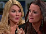 Kyle Richards snapped back at Brandi Glanville after she made mean comments about her sister Kim's alcohol problem