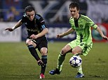 From Europe to second tier: McEachran was 17 when he made his Champions League debut
