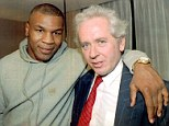 The baddest man on the planet: Sportsmail's Jeff Powell with Mike Tyson