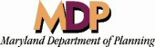 Maryland Department of Planning logo links to the MDP website