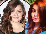 'I dyed my hair red!' Ariel Winter trades her dark locks for Little Mermaid's flaming tresses