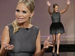 Mystery man: Kristin Chenoweth revealed there is a new man in her life on The Tonight Show with Jay Leno, on Wednesday