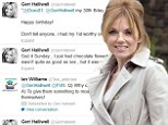 'Don't tell anyone, I had my 1st worthy orgasm at 30': Geri Halliwell gives away too much information on Twitter