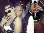 Young, wild & free! Wiz Khalifa and Amber Rose don¿t hold back on their big night out in Hollywood