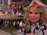 'We all have pieces!' Kristin Chenoweth and The Talk hosts give their hair clips a toss
