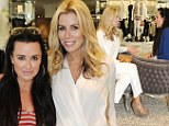 All housewives together! Kyle Richards and Aviva indulge in some retail therapy in Beverly Hills