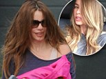 Brunettes still rule! Sofia Vergara goes back to her roots sporting newly restored dark tresses at the gym