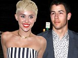 'I haven't seen him in years': Miley Cyrus denies meeting with ex Nick Jonas for lunch... then curiously deletes tweet