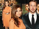 Ryan Gosling and Eva Mendes at The Place Beyond the Pines film premiere, New York