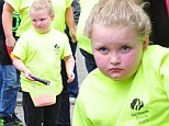 She's prepared! Honey Boo Boo is armed with a flashlight and empty basket as she readies herself for Easter egg hunt