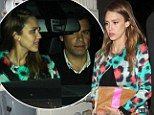 Honestly satisfied! Jessica Alba finds time in busy schedule as a new entrepreneur for a romantic date night with husband Cash Warren