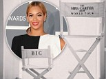 Beyonce posts adorable Instagram of her daughter Blue Ivy's monogrammed chair for Mrs. Carter Show World Tour