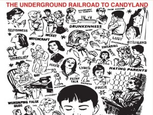 Stream the new LP from Underground Railroad To Candyland