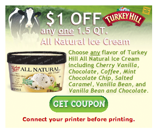 New Turkey Hill Ice Cream Coupon – BOGO at Belle Foods/Food World