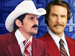 It's Ben Burgundy! Country star Paisley does his best Anchorman impersonation on Good Morning America