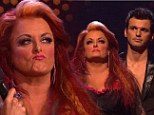 And she's out! Wynonna Judd and partner Tony Dovolani get booted off DWTS after failing to impress judges with the samba