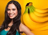 'A banana a day keeps the eye bags away': Hollywood nutritionist Kimberly Snyder reveals her top 'beauty foods' in new book