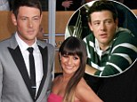 Support: Lea Michele has said she will stand by her boyfriend Cory Monteith during his time in rehab