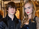 Officially an item? Cara Delevingne is said to be in a relationship with up-and-coming musician Jake Bugg after months of speculation