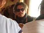 Celebrity customer: Johnny Depp stunned locals when he popped into a pub in Lymington, Hampshire, on Easter Sunday