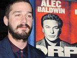 'I think Alec Baldwin had me fired': Shia LaBeouf on the tense feud that lead to his Broadway exit
