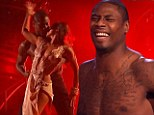 ¿Smouldering like a volcano of passion!¿ NFL star Jacoby Jones wins Prom King crown with a saucy topless rumba