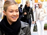 Real Housewives of Beverly Hills star Yolanda Foster steps out with her daughter Gigi in NYC