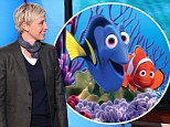 Taking the plunge! Ellen DeGeneres' Dory to be star of the show in Finding Nemo sequel