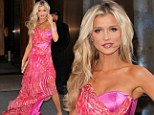 She's a Barbie girl! Joanna Krupa looks like a living doll in over-the-top pink gown for Real Housewives gathering