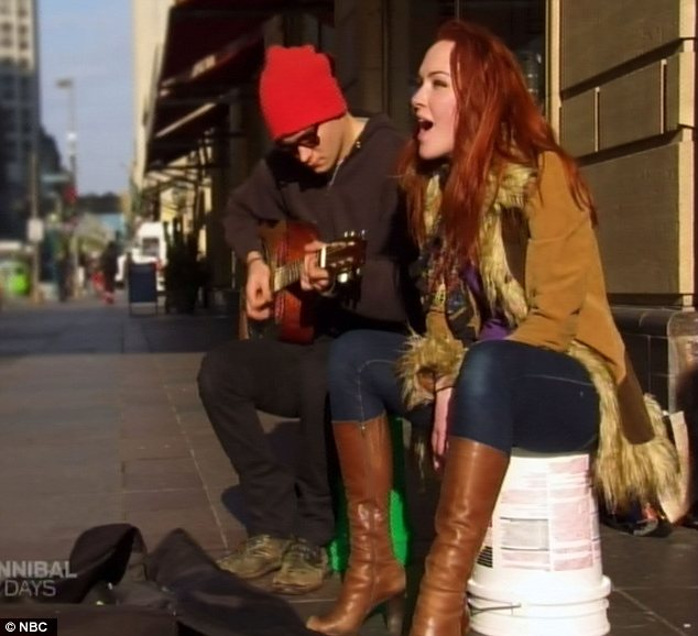 Ambitious: Betsy learned to overcome her nerves by singing on the street