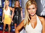 Joanna Krupa rocks in cleavage boosting body-con at Hotel Durex charity event... while Kelly Bensimon misfires in leather