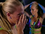 She's a telly flop! Kendra Wilkinson is kicked off Splash after refusing to dive