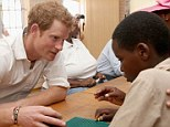 Prince Harry and his new private secretary Edward Lane Fox have both been involved with the Burnaby Blue Foundation, which has worked with Harry's charity in Lesotho, pictured