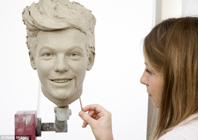 World class: The wax models will travel to New York after their London launch