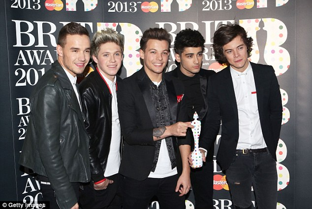 Looking smart, boys: The wax figures will capture the band's youthful fashioin